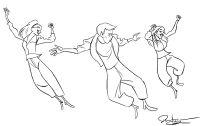 Jazz Dance Coloring Pages - Coloring Home