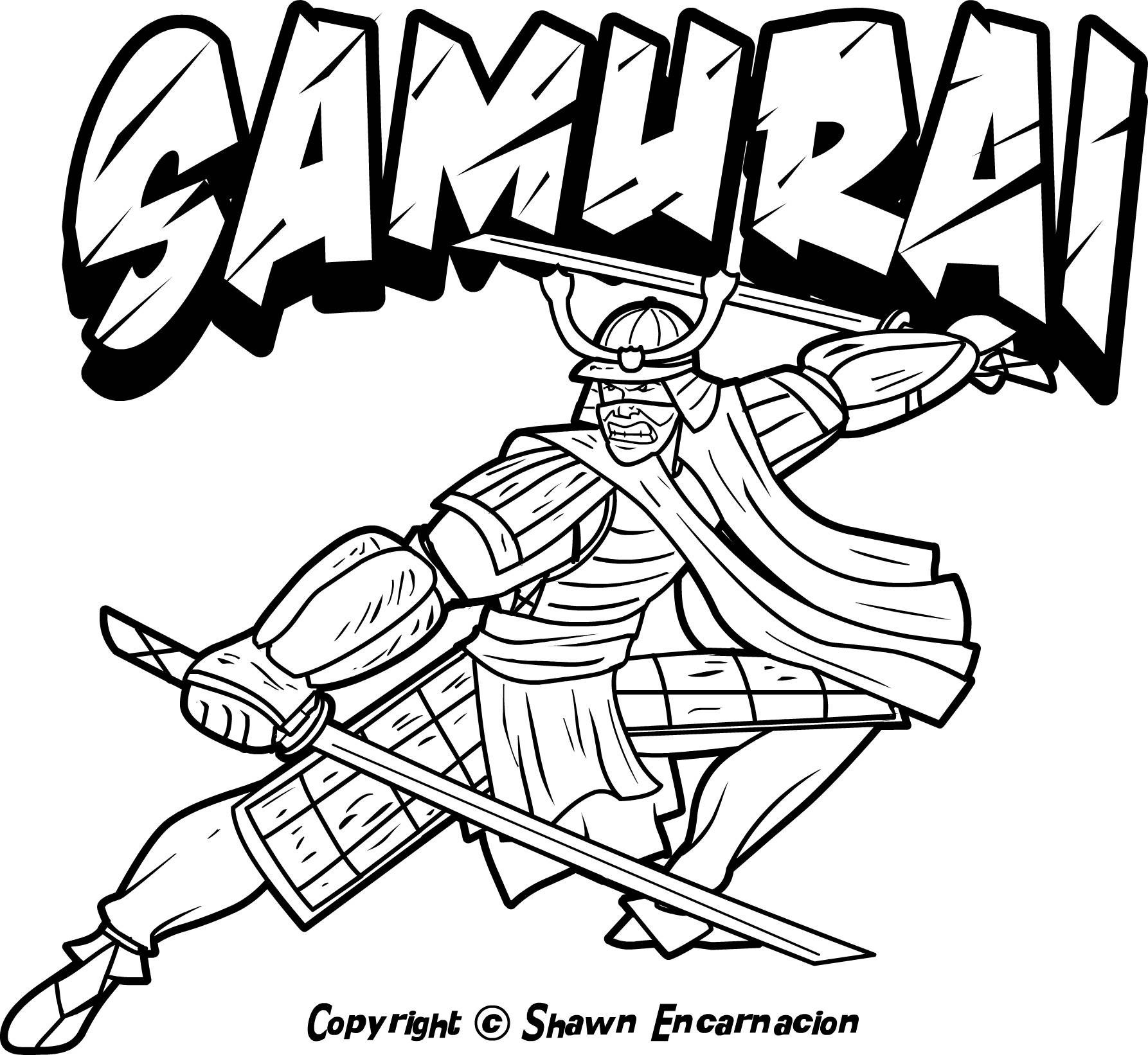 Warrior Coloring Pages
