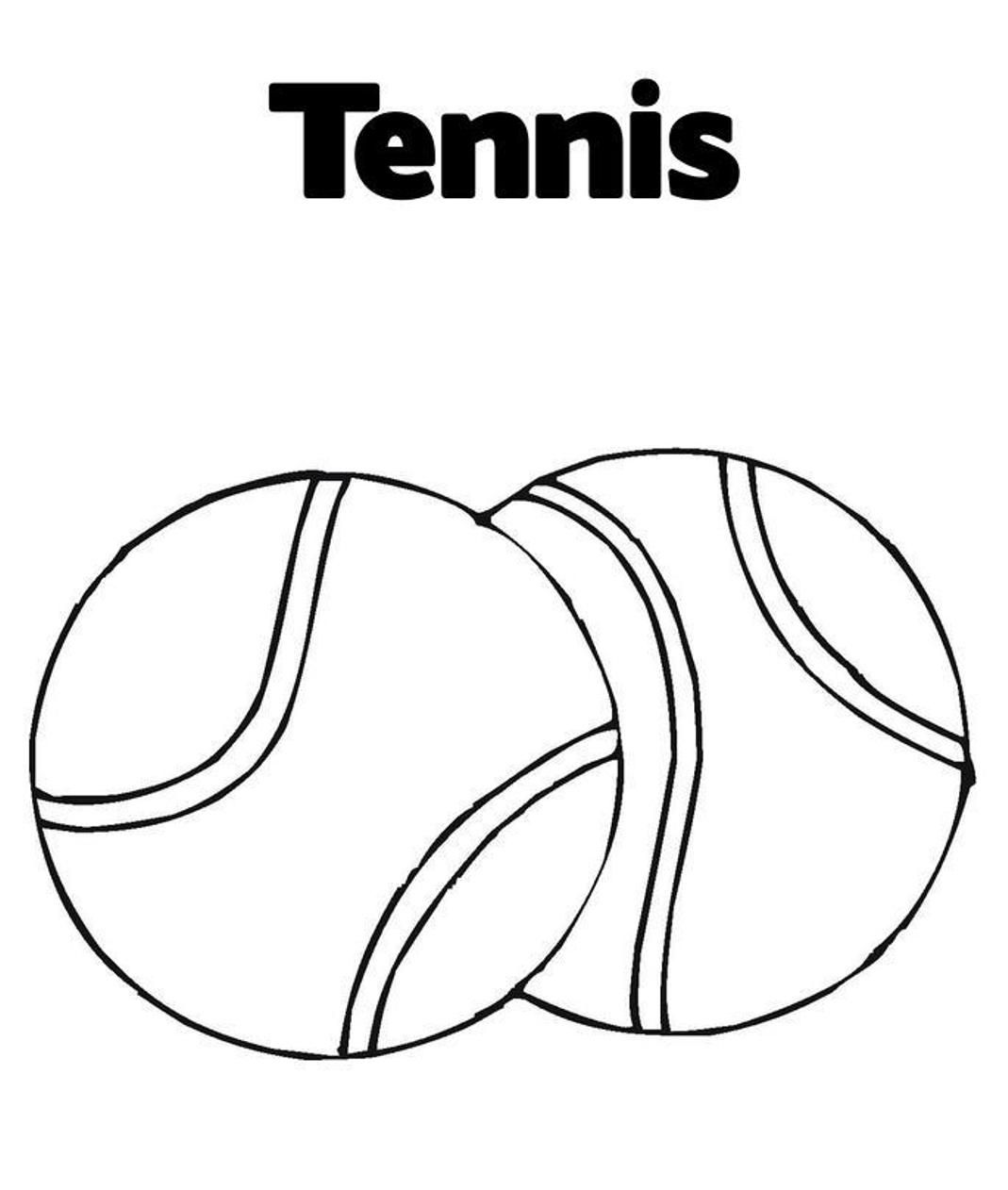 Sports Balll Coloring Pages