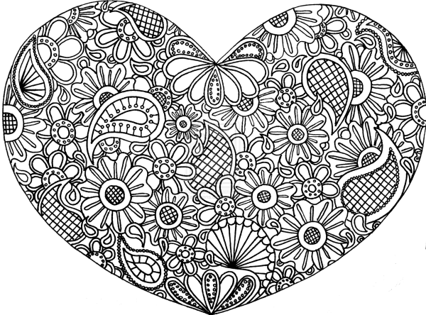 Free Doodle Art Coloring Pages - Home