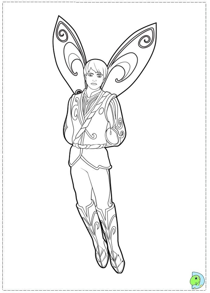 Coloring For Boys Tooth Fairy Coloring Pages