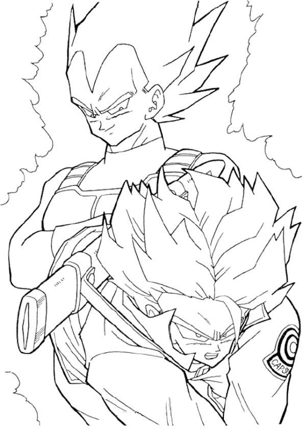 Coloring Pages Of Trunks In Dbz AZ Coloring Pages