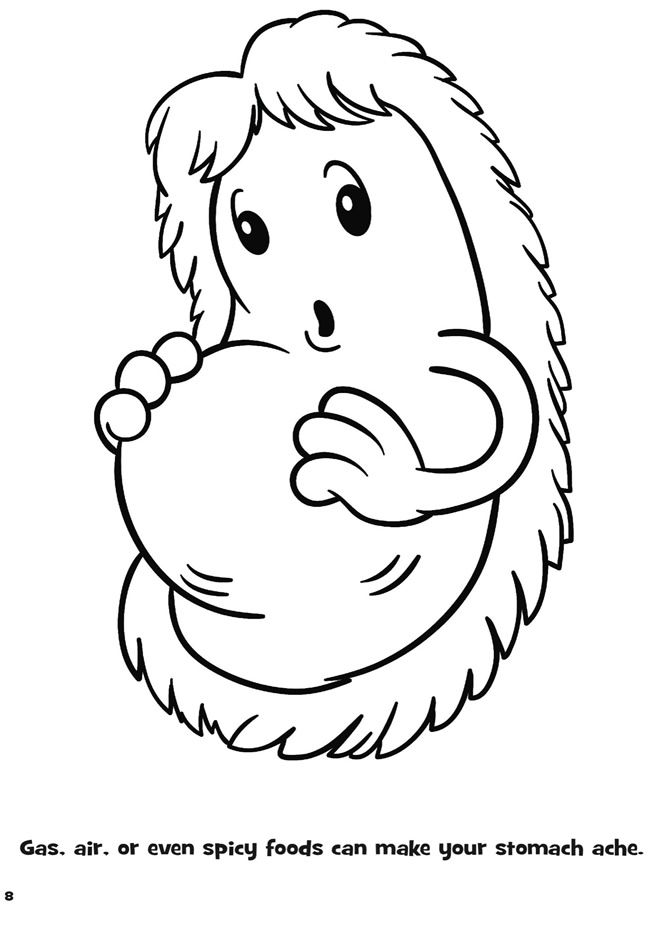 Coloring Pages About Germs Coloring Pages