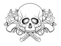 Coloring Pages Skulls - Coloring Home