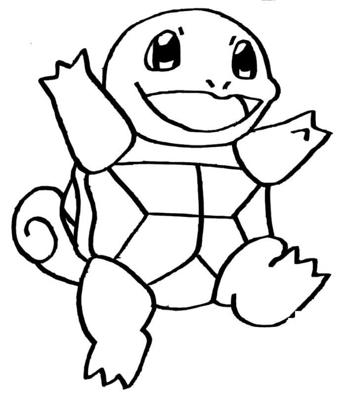 Best Free Pokemon Squirtle Coloring Pages Photos