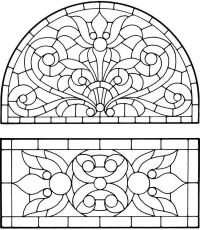 Coloring Pages Stained Glass - Coloring Home