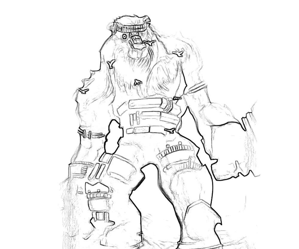 Colossal Juggernaut Coloring Pages AZ Coloring Pages