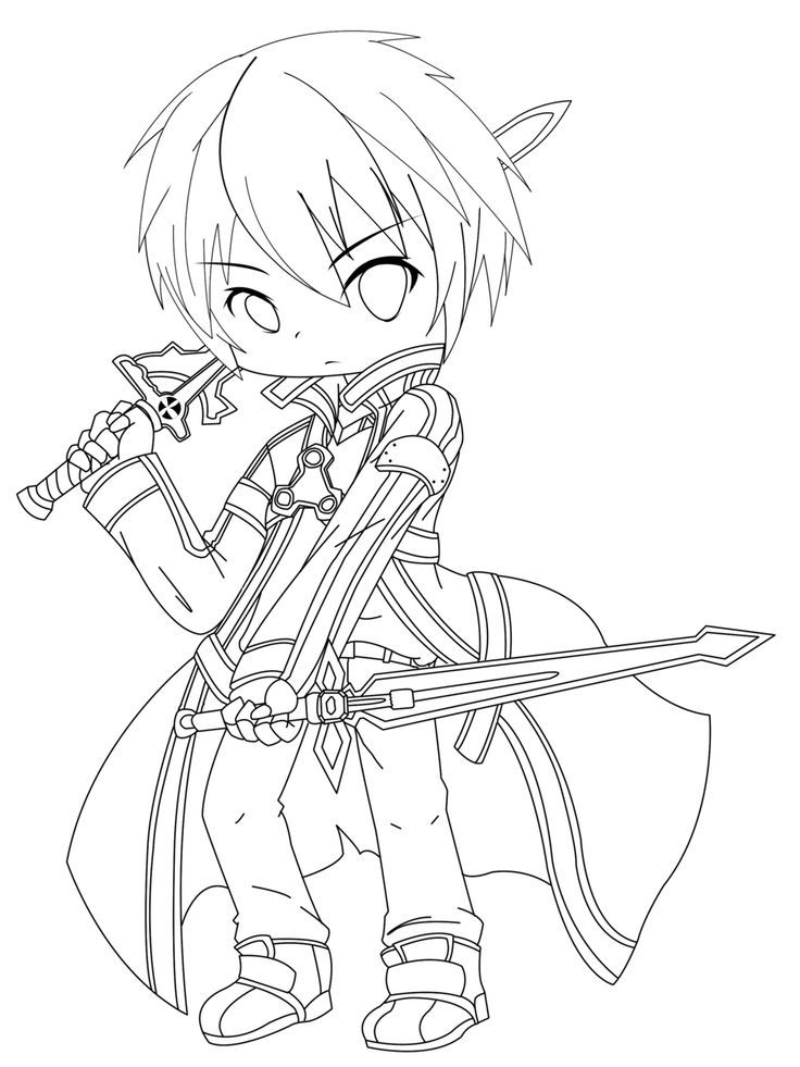 Sword Art Online Coloring Pages  Coloring Home