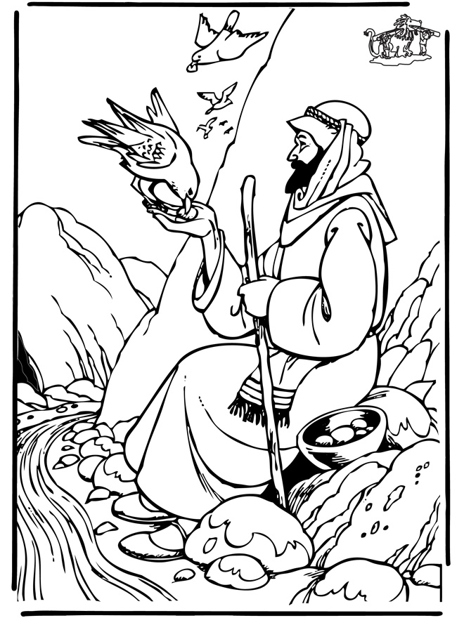 Elijah Coloring Pages Coloring Pages