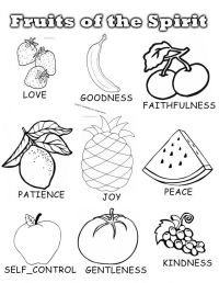 The Fruit Of The Spirit Coloring Pages - Coloring Home