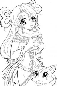 ANIME COLORING PAGES - Coloring Pages