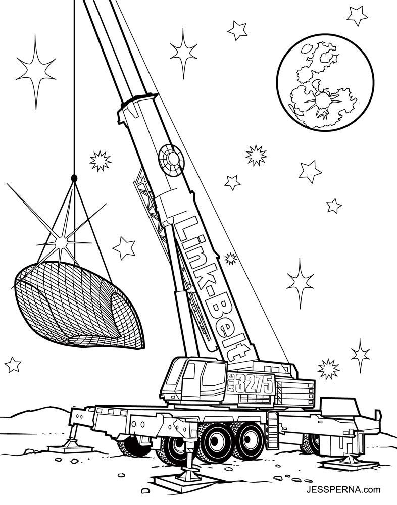 Attic Coloring Pages
