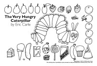 Very Hungry Caterpillar Coloring Page - AZ Coloring Pages