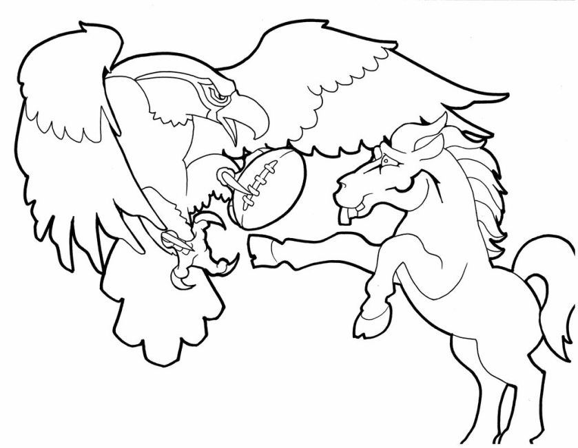 boise state broncos pages coloring pages