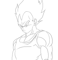 Coloring Pages Vegeta And Goku - AZ Coloring Pages