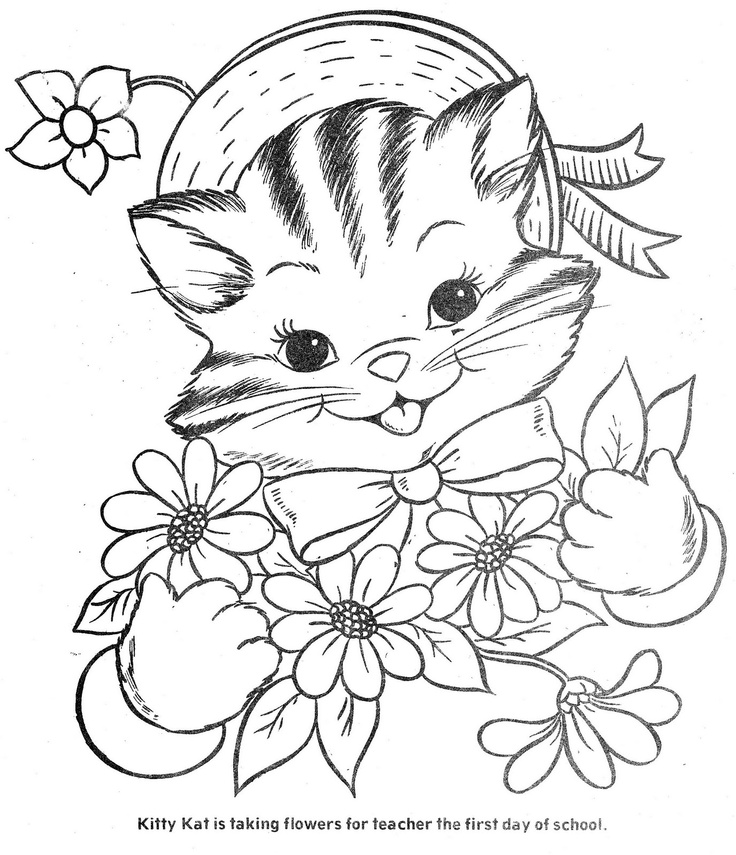 Three Little Kittens Coloring Pages Az Sketch Coloring Page
