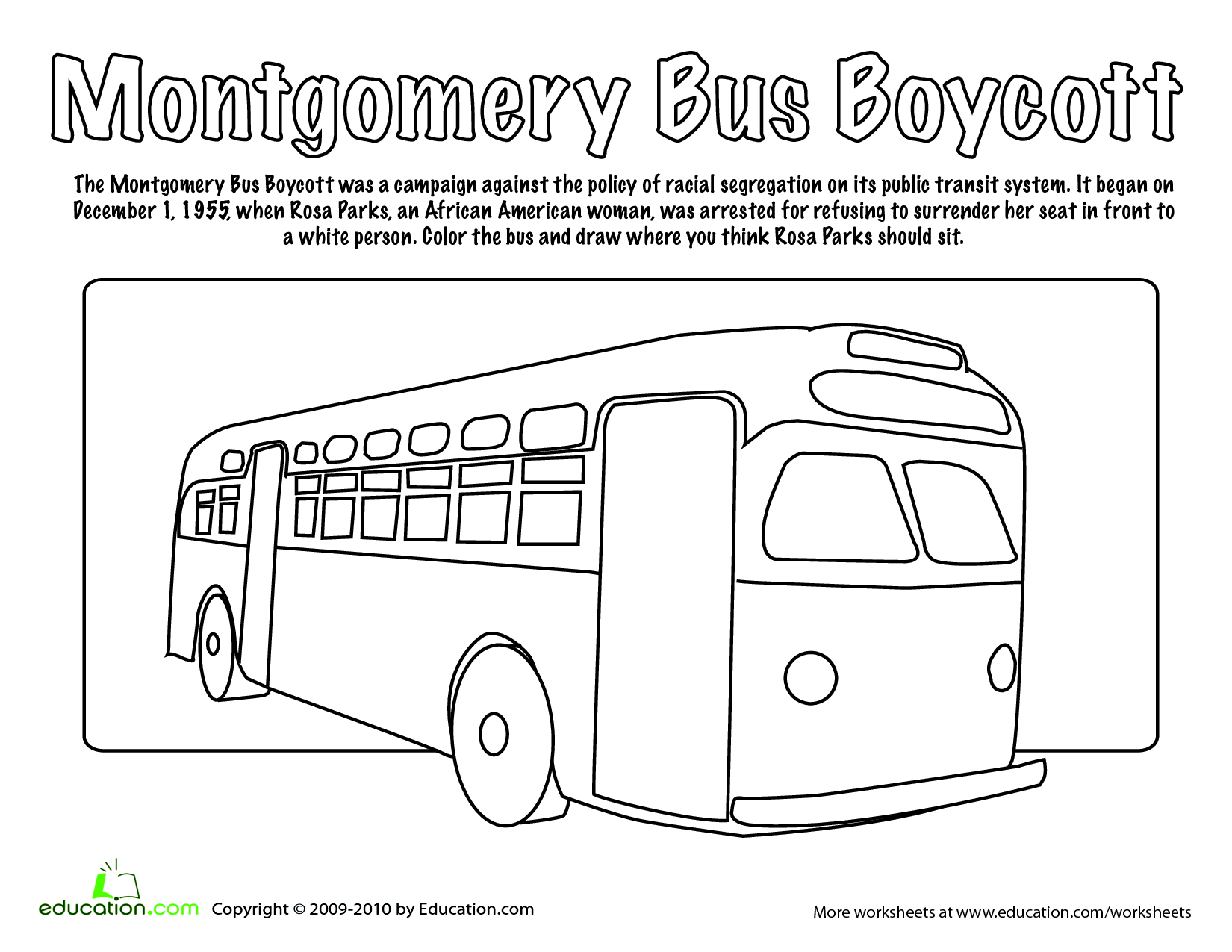 Bus Rules Worksheet For Kindergarten