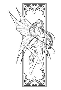 Printable Coloring Pages Of Fairies - AZ Coloring Pages