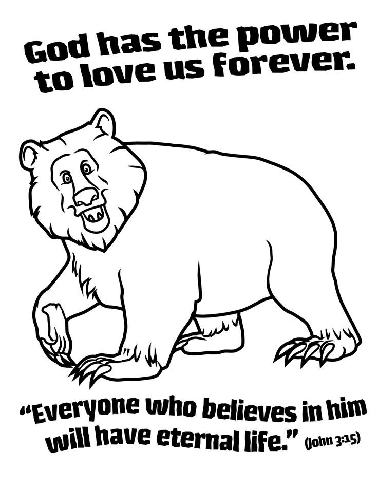 God Gives Us Food Coloring Page Coloring Pages
