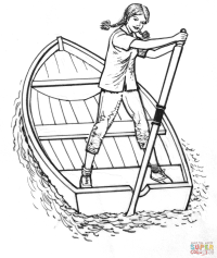 Viking Ship Coloring Page Free - Coloring Home