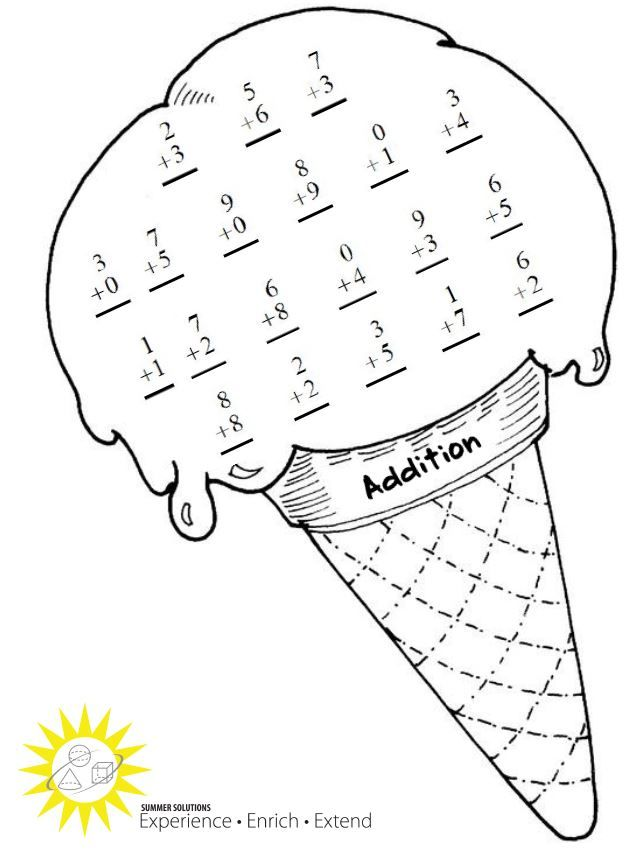 Math Multiplication Coloring Sheets Coloring Pages