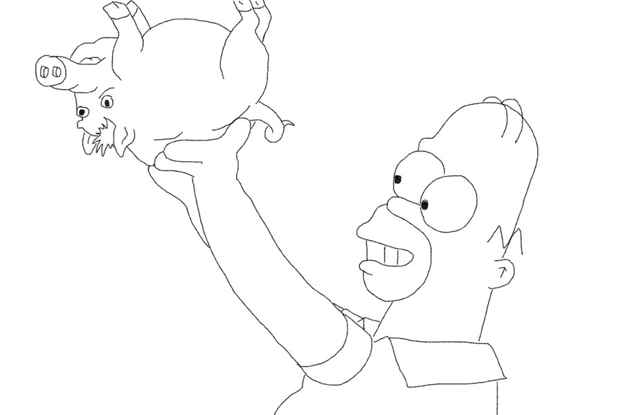 Fetal Pig Coloring Sheets Coloring Pages