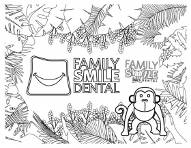 Dental Coloring Pages For Kids & Teeth Printables