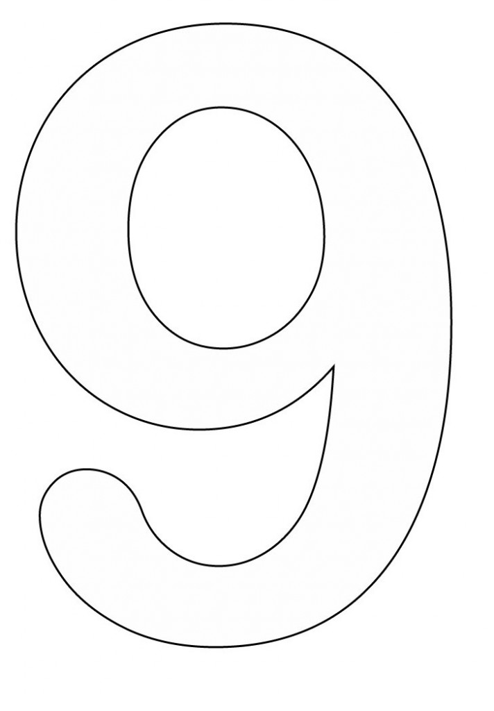 Coloring Pages Of Number 8