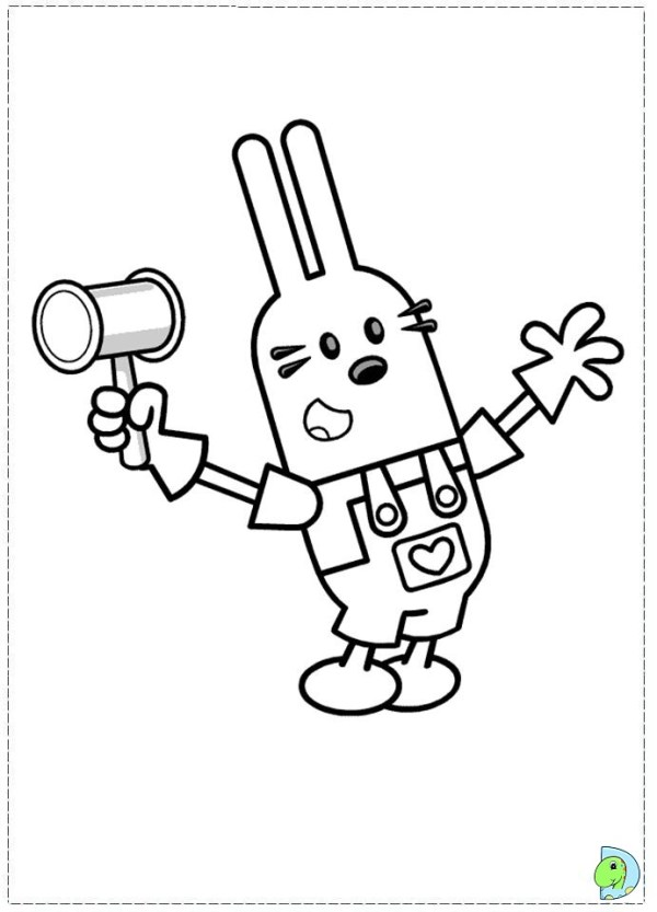 wow wow wubbzy coloring pages # 9