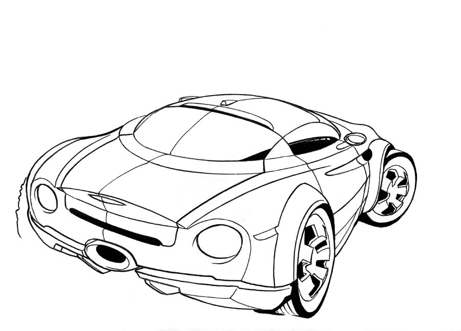 Sketchup Truck Coloring Pages