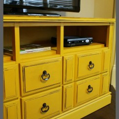 Kitchen Drawer Liners Thermometer Reviews Diy Dresser Turned Tv Console With Tutorial • Domestic ...