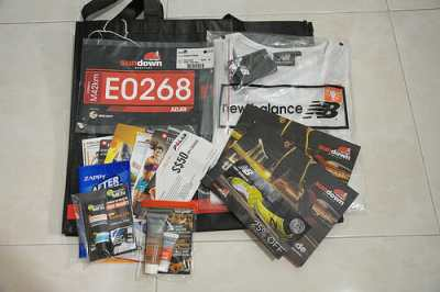 Sundown Marathon 2012 Race Pack Collection