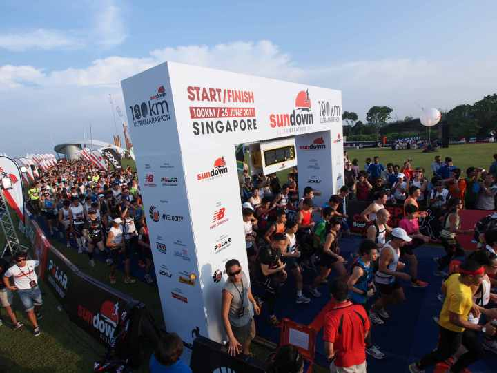 Singapore's largest Ultra-Marathon is back after a one year absence and will flag off 14 September, 6.00pm