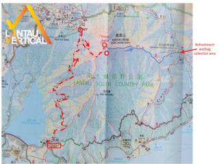 Lantau Vertical - Course Map