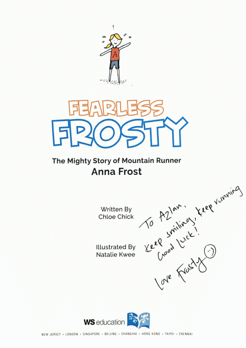 Fearless Frosty Autograph