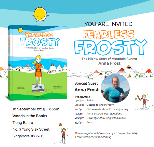 Fearless Frosty Poster