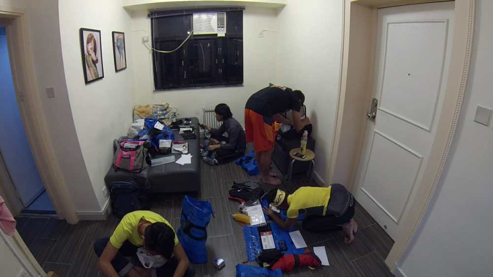 Gear packing with the mates.