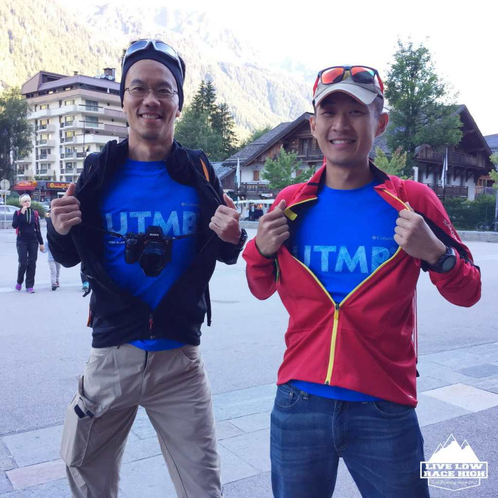 The UTMB Supermen.