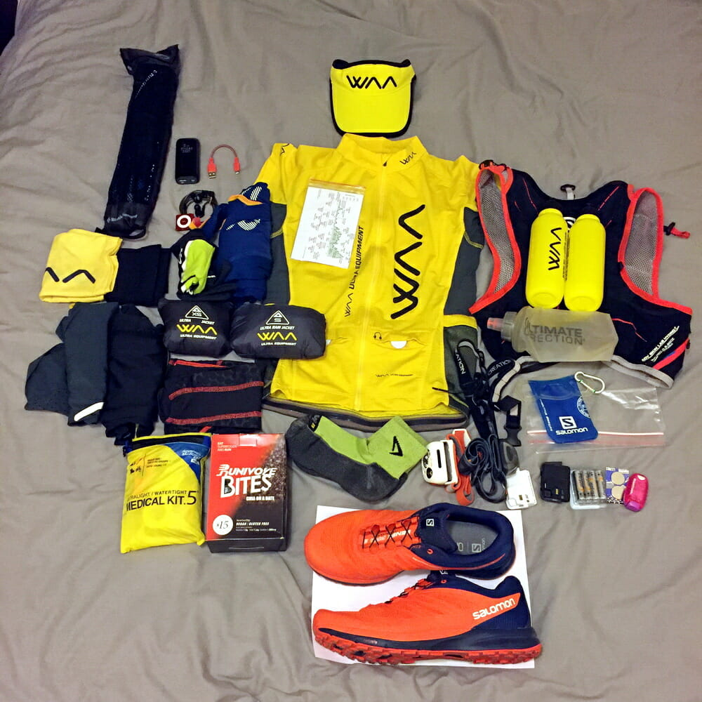 2017 Vibram Hong Kong 100 - Race Gear