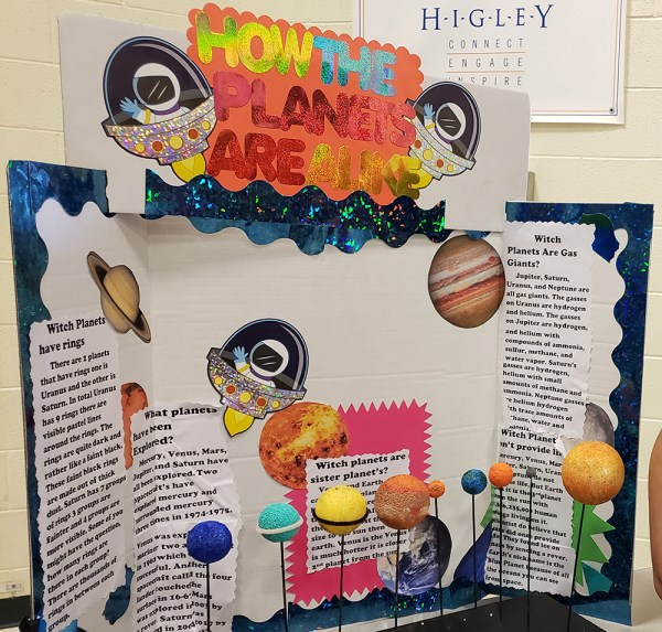 Centennial Showcases 5th-grade Earth And Space Projects