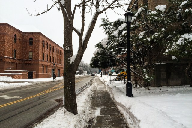 Snow day in Chicago