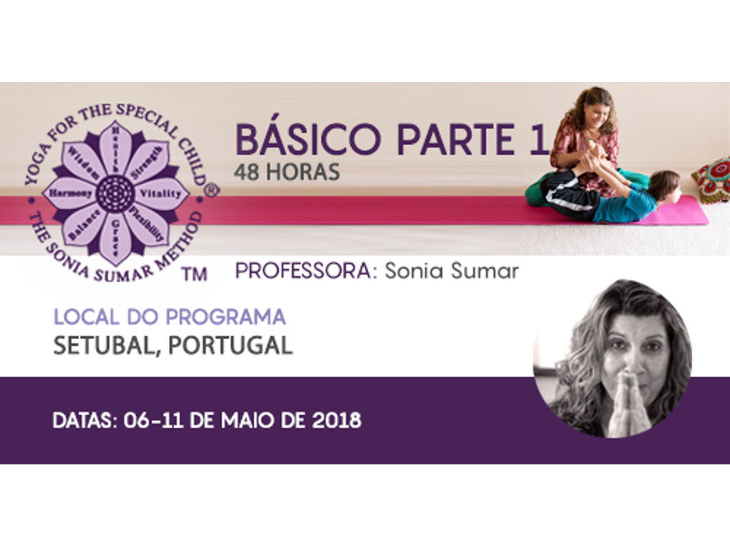 Curso Yoga - 06 a 11 Maio 2018