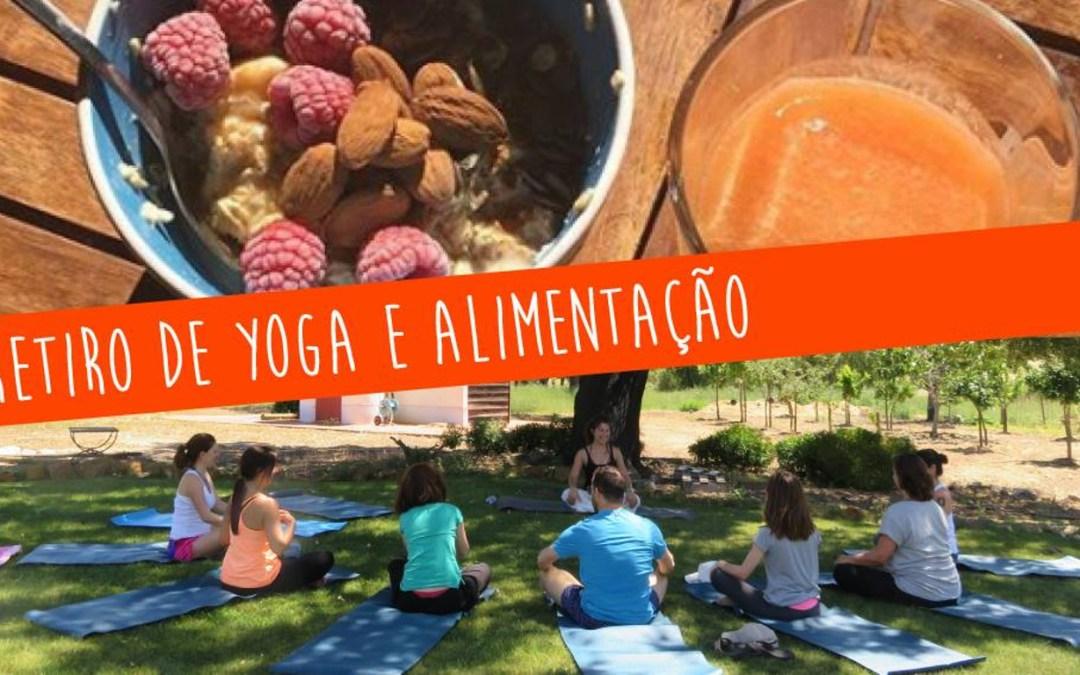 Retiro Yoga e Alimentação – 30 março a 1 abril 2018