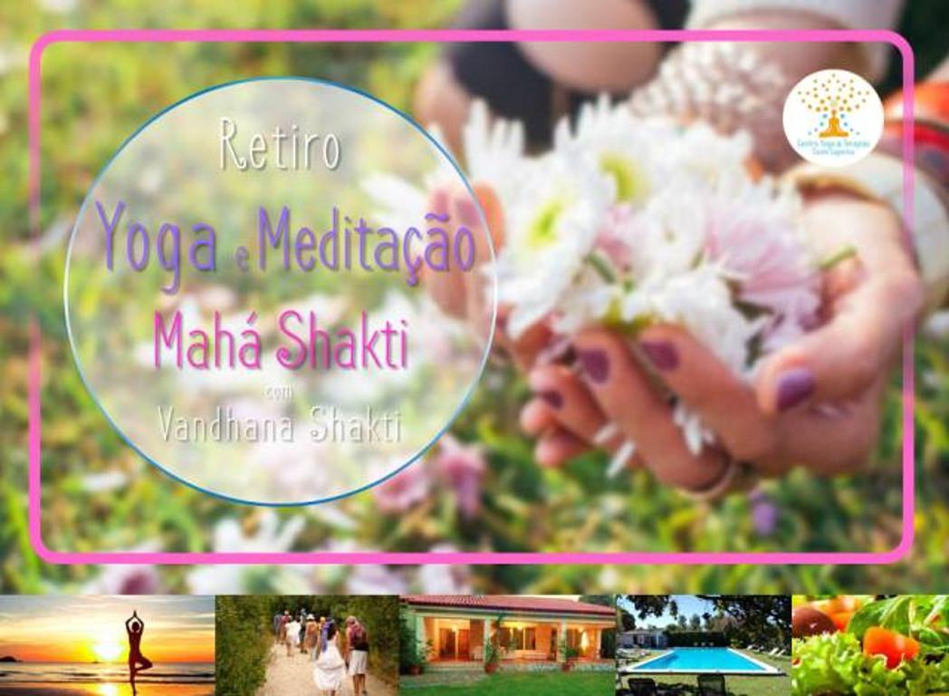 Retiro Yoga e Meditação Mahá Shakti - 13 abril a 15 abril 2018