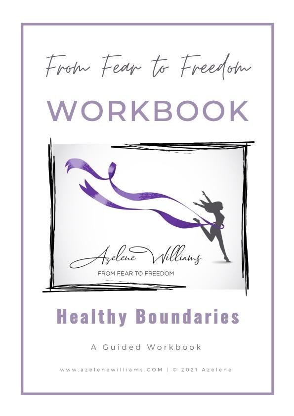 Healthy Boundaries Workbook By Azelene Williams