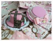 pink-sweet-lolita-mini-hats-hair-facinators