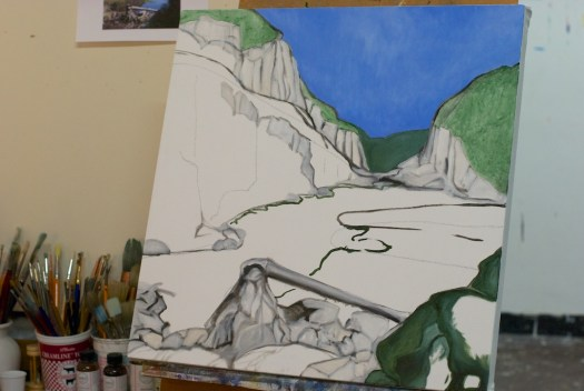 Paysage progress shot #2