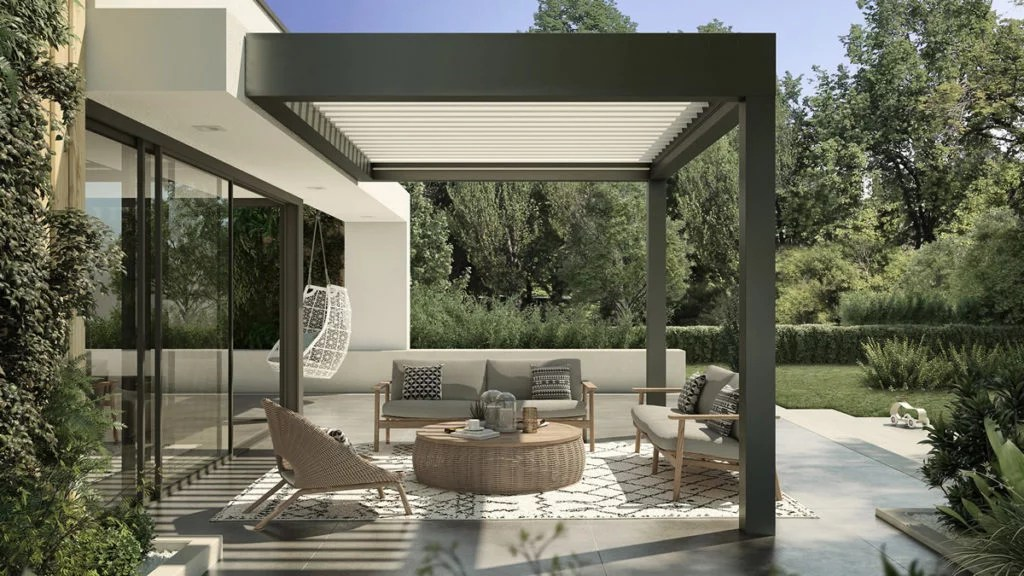 pergola attached to the house versus