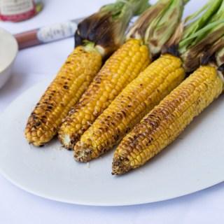 Grillezett kukorica