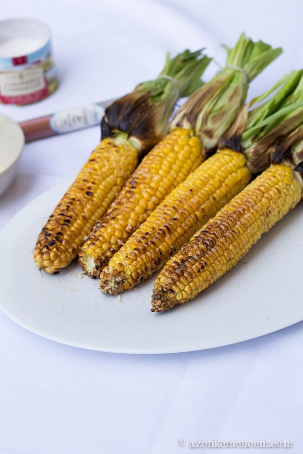 Grillezett kukorica - ízlés szerint ízesítjük